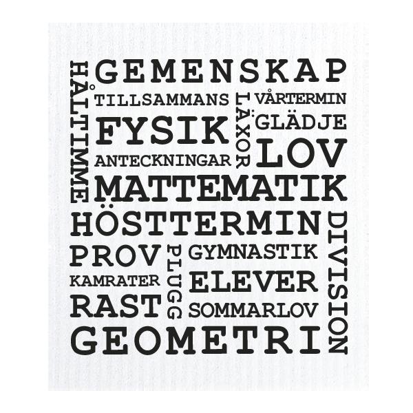 Standardtrasa – Skola – Text
